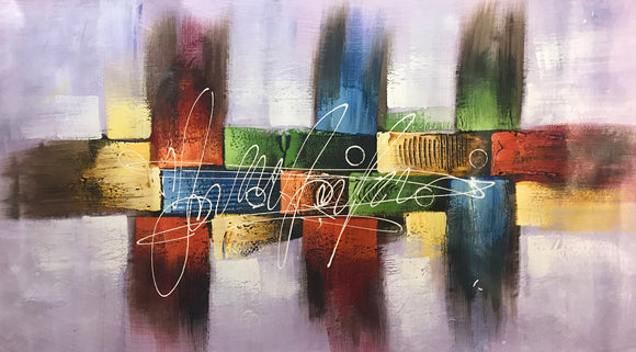 Abstract Painting  Contemporary Art  Hand Painted        Canvas Painting - Gift idea