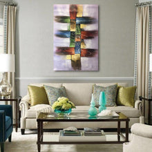Load image into Gallery viewer, Abstract Painting  Contemporary Art  Hand Painted        Canvas Painting - Gift idea