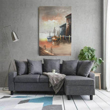 Load image into Gallery viewer, Sunset & The Sea  Hand Painted        Canvas Painting - Gift idea