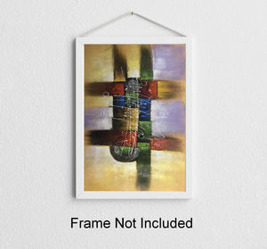 Abstract Painting  Hand Painted        Contemporary Art  Canvas Painting - Gift idea