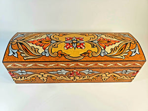 Bronze Medium Hand Painted 3D Jewelry Box - Gift idea