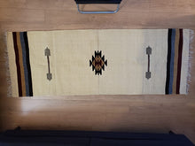 Load image into Gallery viewer, Beige Handmade Runner Rug - Gift idea
