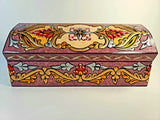 Purple Hand Painted 3D Jewelry Box - Gift idea