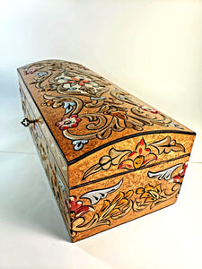 Bronze Hand Painted 3D Jewelry Box - Gift idea