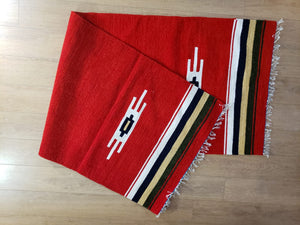 Red Handmade Runner Rug - Gift idea