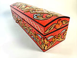 Small Hand Painted 3D Design Jewelry Box - Gift idea