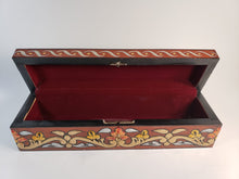 Load image into Gallery viewer, Burgundy Medium Hand Painted 3D Jewelry Box - Gift idea