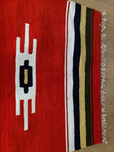 Load image into Gallery viewer, Red Handmade Runner Rug - Gift idea