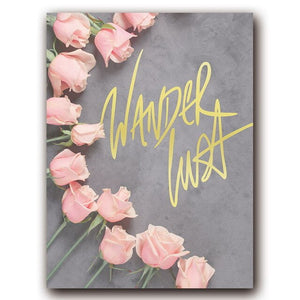 Pink Style Canvas Painting - Gift idea