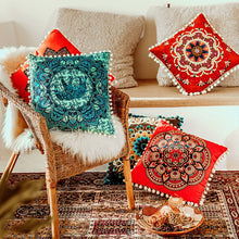 Load image into Gallery viewer, Mandala Floral Pillow Covers - Gift idea