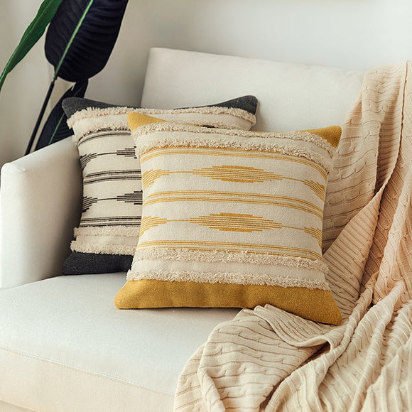 Cotton Woven cushion covers - Gift idea