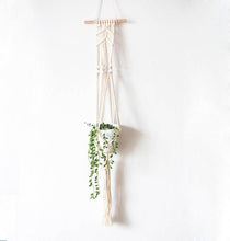 Load image into Gallery viewer, Handmade Macrame Plant Hanger - Gift idea