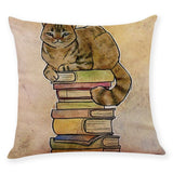 Sleeping Cat Throw Pillow Case - Gift idea