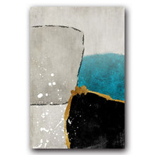 Load image into Gallery viewer, Abstract Minimalist Nordic Canvas Print - Gift idea