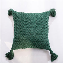 Load image into Gallery viewer, Crochet Knitted Cushion Cover - Gift idea