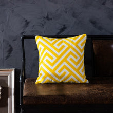 Load image into Gallery viewer, Yellow Cotton Embroidered Cushion Covers - Gift idea