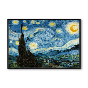 Impressionist Van Gogh Starry Night Canvas - Gift idea