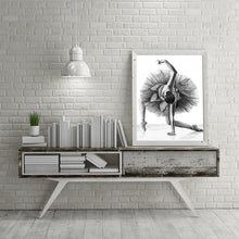 Load image into Gallery viewer, Black & White Ballet Dancer Canvas - Gift idea
