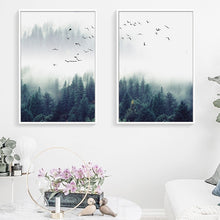 Load image into Gallery viewer, Decoration Forest Lanscape Canvas - Gift idea