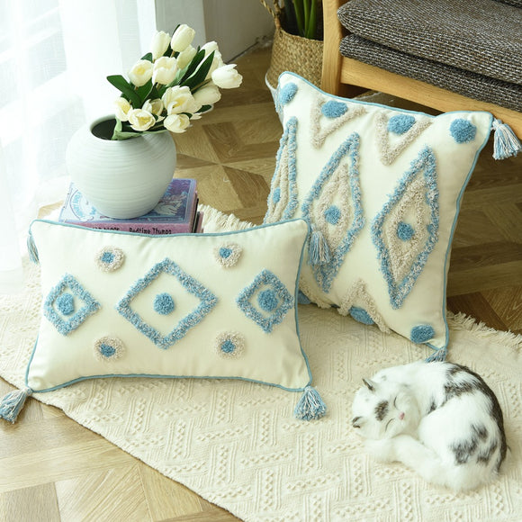 Boho Style Handmade Cushion Covers Plush - Gift idea