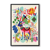 Cute Colorful Animal World Children's Room - Gift idea