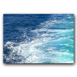 Blue Love Canvas Painting - Gift idea