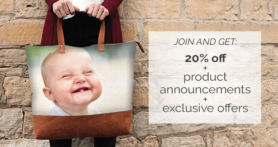 JOIN AND GET: 20% off  + product  announcements + exclusive offers
