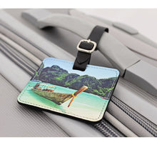 Load image into Gallery viewer, Square Luggage Tag
