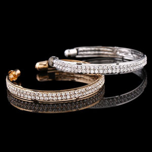Crystal Rhinestone Bangle