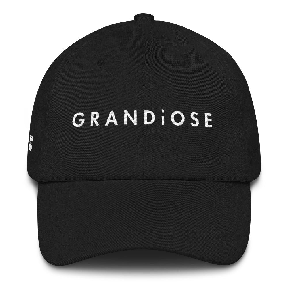 Grandiose Oversized Hat   Crowned in black