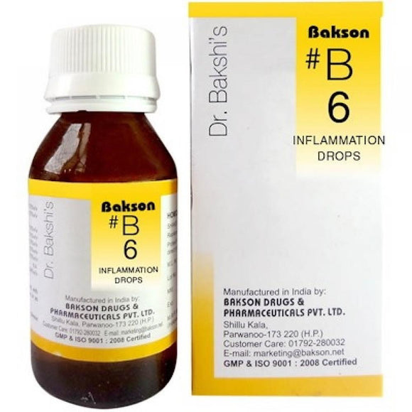 Bakson B6  Buy online homoeopathic medicine the homoeopathy store