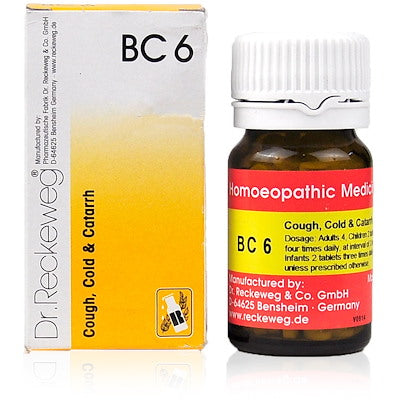 Bio Combination 6 Dr. Reckeweg Buy Online | The Homoeopathy Store