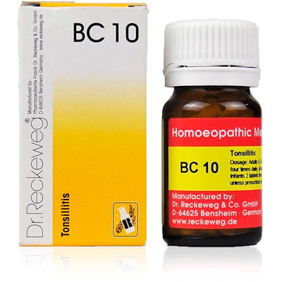Bio Combination 10 Dr. Reckeweg Buy Online | The Homoeopathy Store