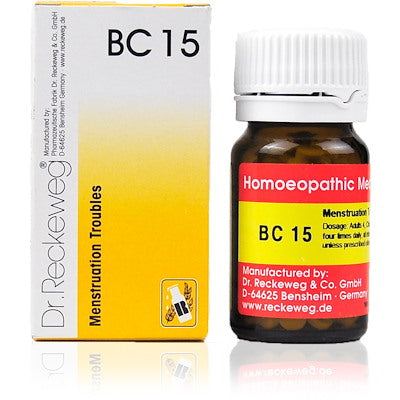 Bio Combination 15 Dr. Reckeweg Buy Online | The Homoeopathy Store