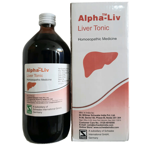 Alpha Liv Syrup 500 ml