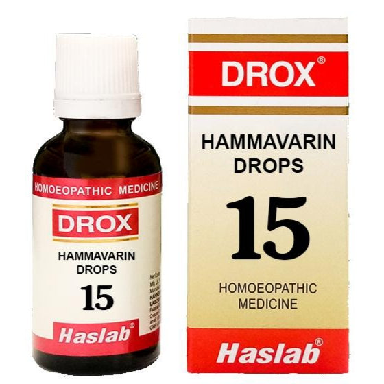 DROX 15 HAMMAVERIN (ANTI BLEEDING DROPS)