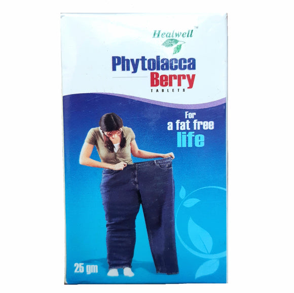Phytolacca Berry Tablets Healwell