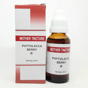 Phytolacca berry Q Buy Online | Order Bakson Tinctures online