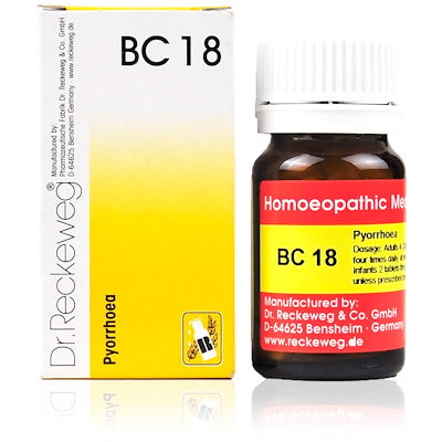 Bio Combination 18 Dr. Reckeweg Buy Online | The Homoeopathy Store
