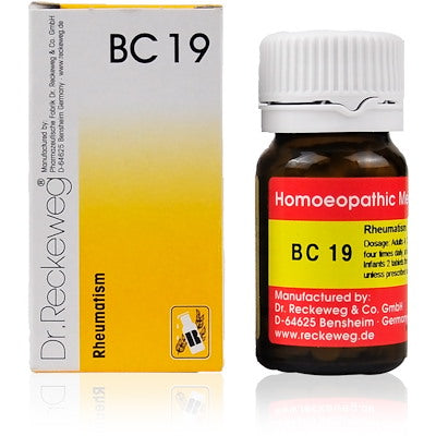 Bio Combination 19 Dr. Reckeweg Buy Online | The Homoeopathy Store