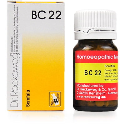 Bio Combination 22 Dr. Reckeweg Buy Online | The Homoeopathy Store