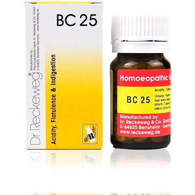 Bio Combination 25 Dr. Reckeweg Buy Online | The Homoeopathy Store