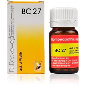 Bio Combination 27 Dr. Reckeweg Buy Online | The Homoeopathy Store