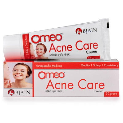 Omeo Acne care cream Bjain buy online homoeopathic medicines the homoeopathy store
