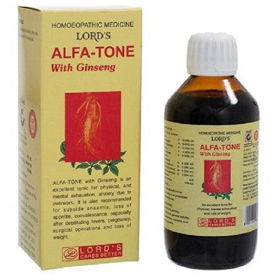 Lords Alfa Tone with Ginseng Tonic(180 ml)