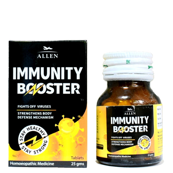 Immunity Booster Tablets Allen buy online | The Homoeopathy Store