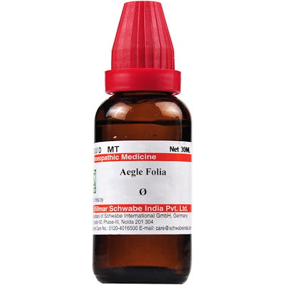 Aegle folia Q Schwabe buy homoeopathic medicine online the homoeopathy store