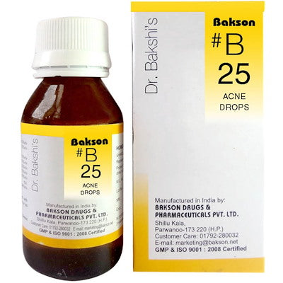 Bakson B25  Buy online homoeopathic medicine the homoeopathy store
