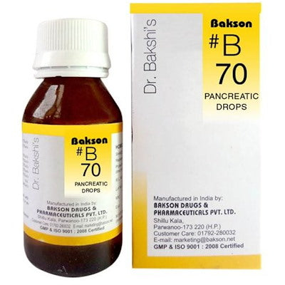 Bakson b 70 buy online homoeopathic medicines the homoeopathy store