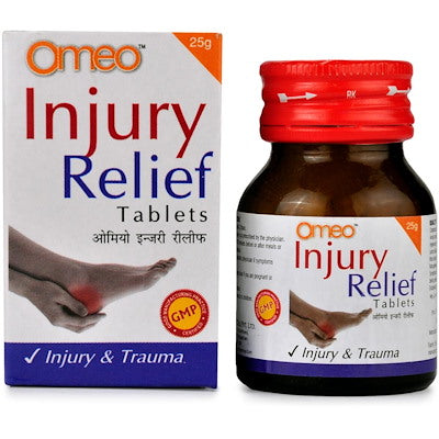 Omeo injury relief tabs